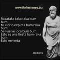 Rakataka taka taka bum bum mi vidrio explota bum raka bum se vuelve loca bum bum esto es una fiesta bum raka bum esto revienta